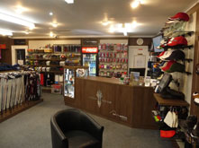 First class 1000 square foot golf shop