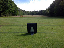 280 yard range with 3 covered bays
